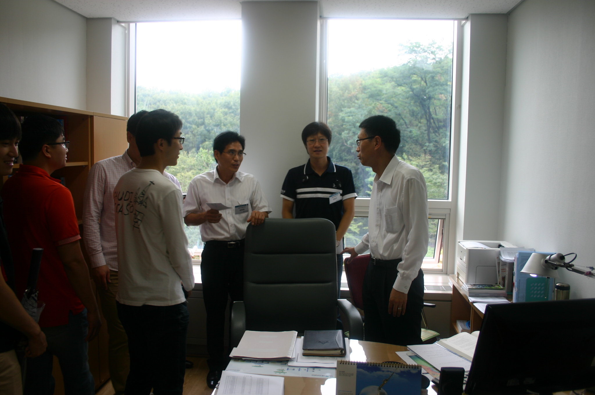 국제무역물류학과 캠퍼스투어(12년8월25일) 이미지